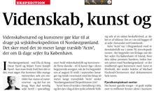 Politiken om ekspeditionen